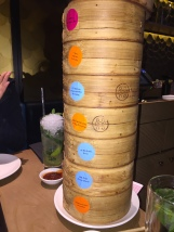 Stack of steamed Dim Sum