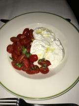 D.O.P Buffalo Mozzarella with tomatoes & basil