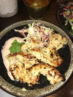 Murgh Malai chicken tikka