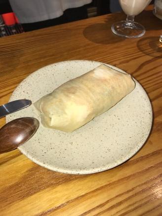 Peanut ice cream roon bin with coriander
